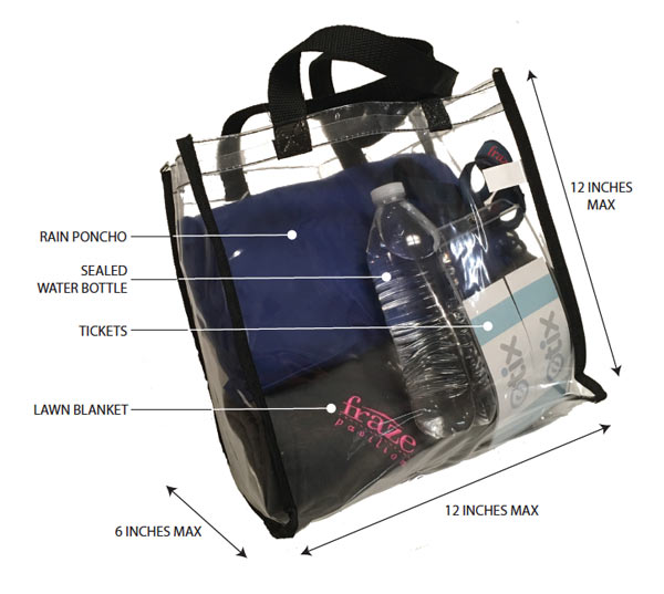 Approved Bag Size